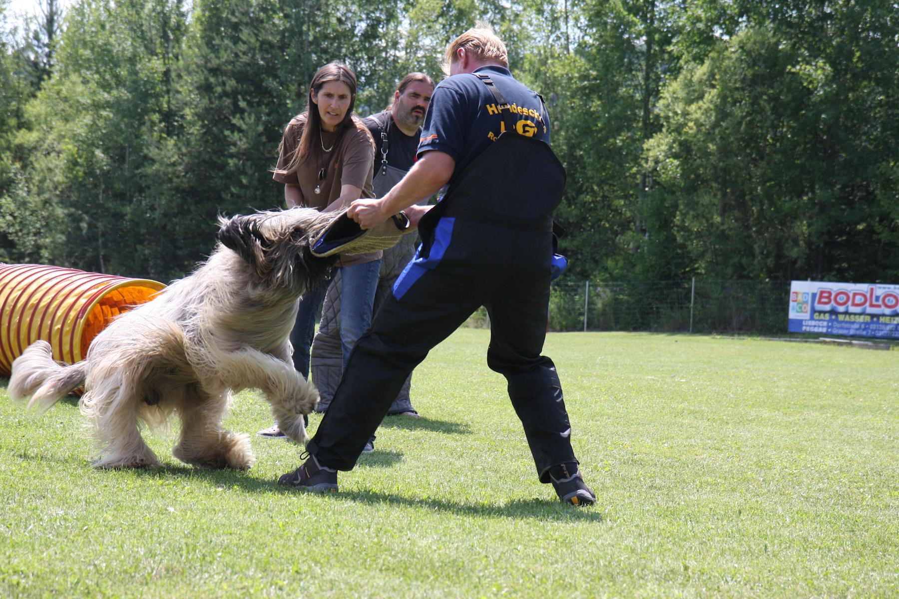 Schutzhunde Event der besonderen Art