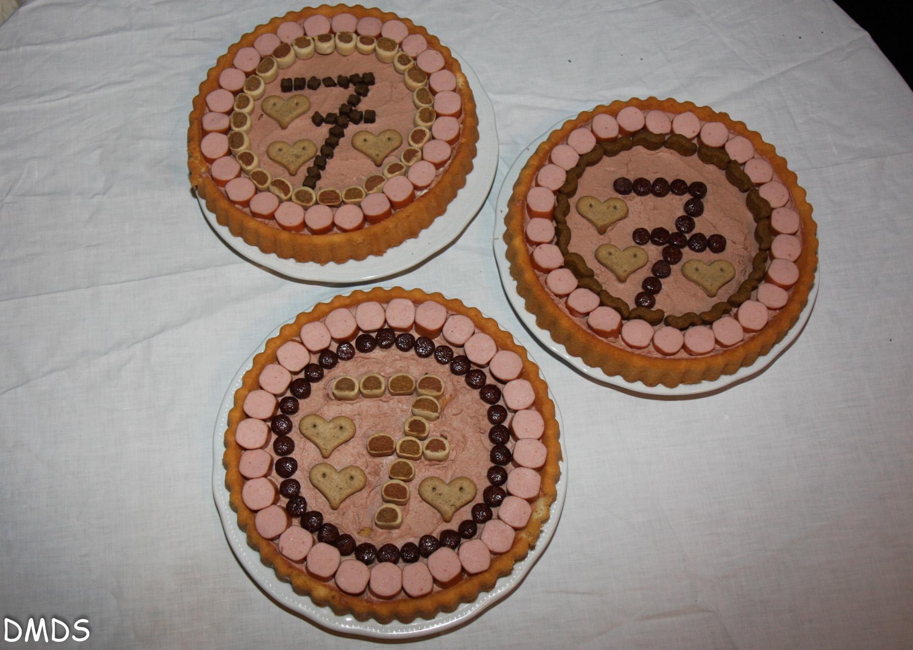 Meine Putzbären feiern ihren 7.Geburtstag!